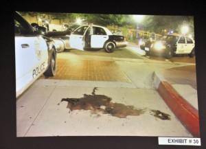Kelly-Thomas-pool-of-blood-crime-scene-exhibit-photo